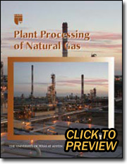 Plant Processing of Natural Gas Book-Click to Preview